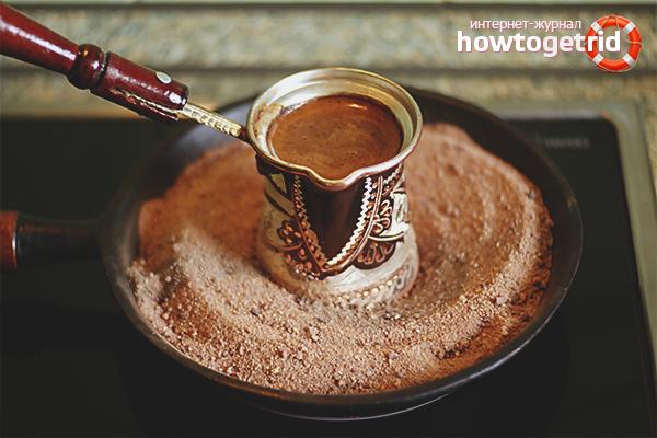 Как сварить кофе «эспрессо» в турке