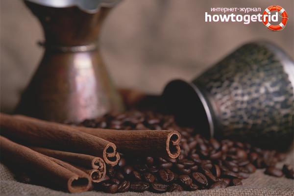 Как сварить кофе с корицей в турке