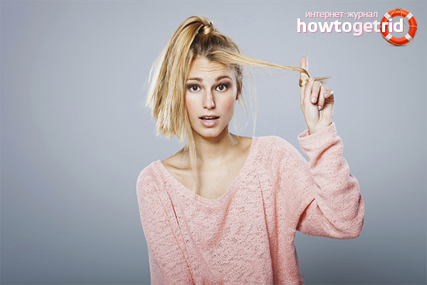 Как восстановить волосы после обесцвечивания