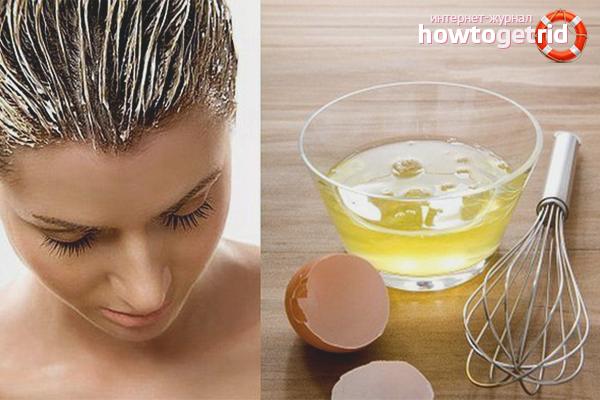 Народные средства для восстановления мелированных волос