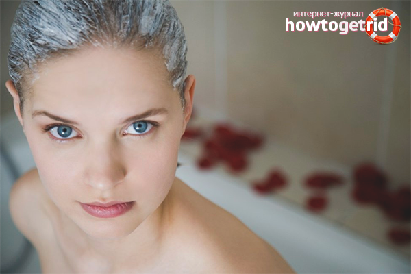Маски для здоровья обесцвеченных волос