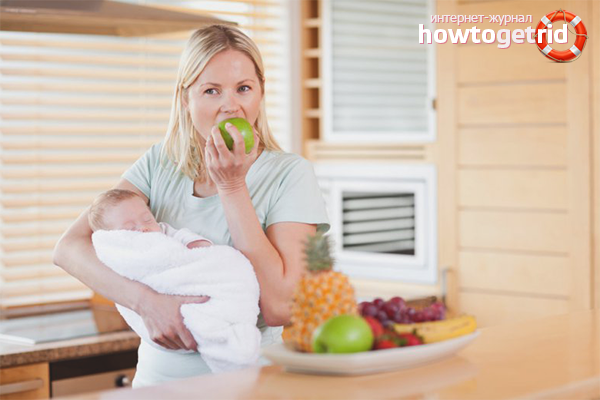 Диета для новоиспечённых мам