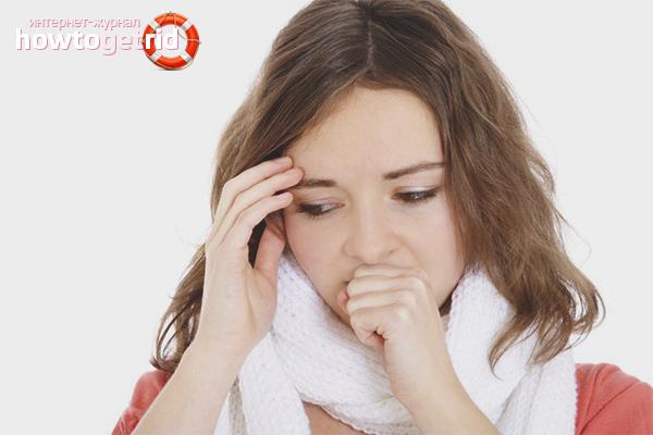 Как избавиться от сухого кашля