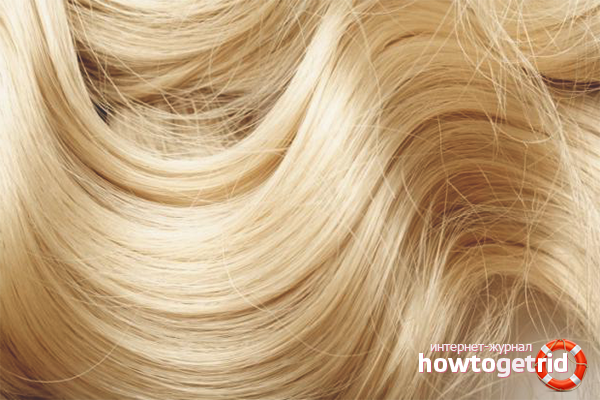 Как обесцветить волосы перекисью