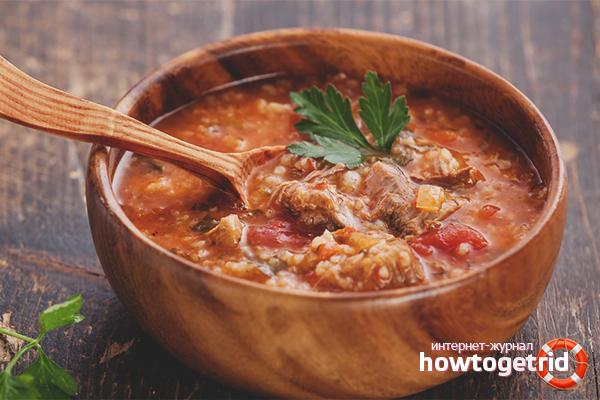 видео рецепт как приготовить суп харчо в