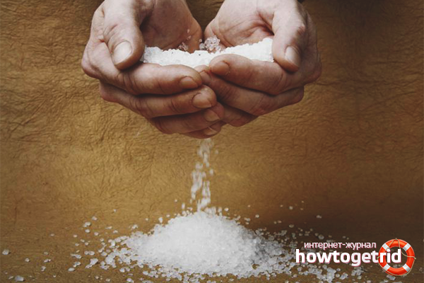 Как вывести соли из суставов