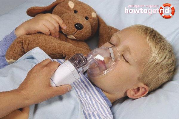 Лечение ларинготрахеита у детей