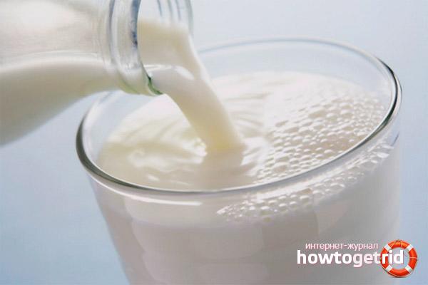Молочные рецепты от кашля