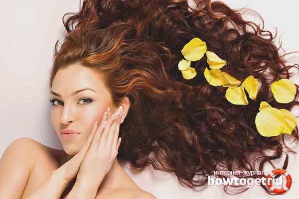 Народные рецепты для восстановления волос