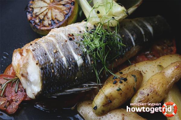 Как приготовить сибас в духовке: 3 рецепта