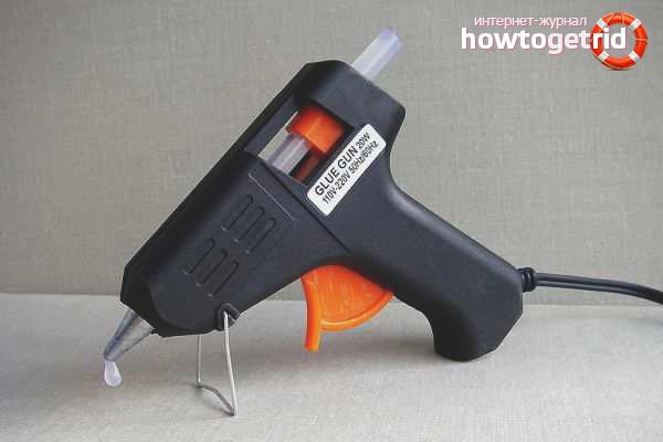Использование клеевого пистолета