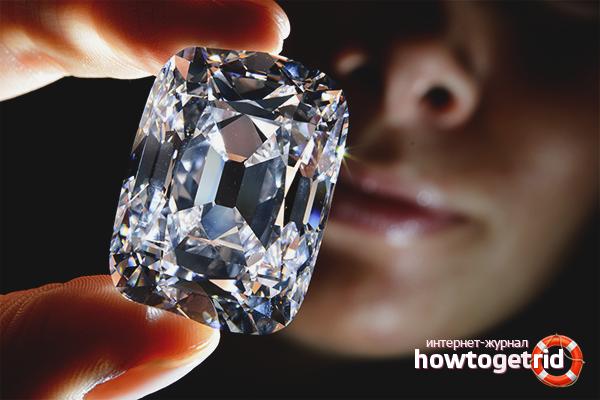 Как чистить бриллианты