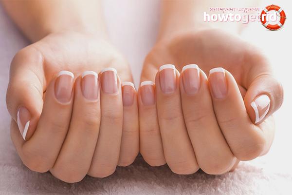 Как сделать ногти крепкими в домашних фото 980