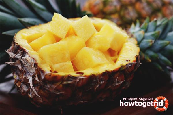 Как сохранить ананас на длительный срок