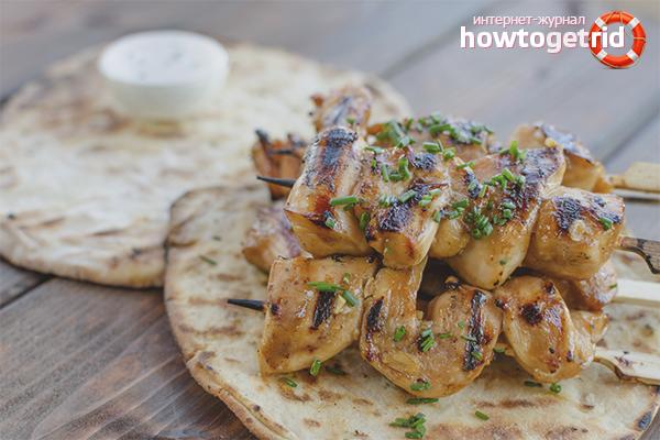 Как вкусно замариновать курицу для шашлыка