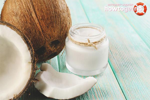 Приготовление кокосового масла в домашних условиях