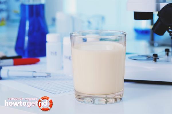 Проверка молока на примеси