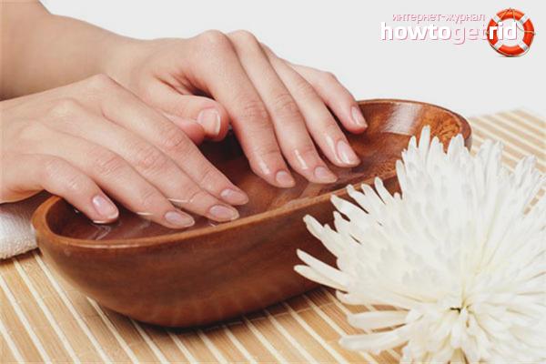 Ванны для восстановления ногтей