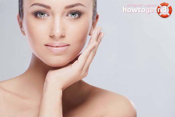 Борьба с жирной кожей лица