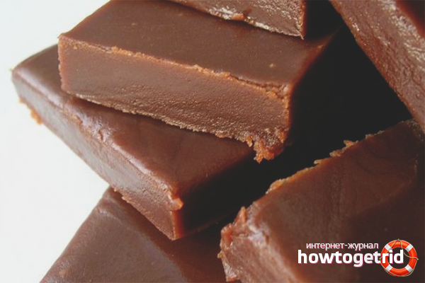 Ириски с шоколадом