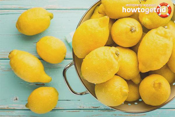 Как хранить лимоны