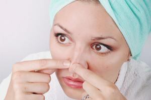 Как очистить поры на носу