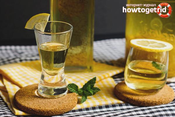 Как пить лимончелло