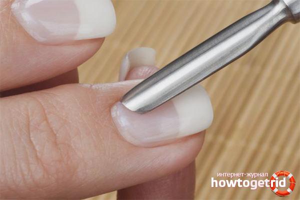 Как пользоваться пушером для ногтей видео