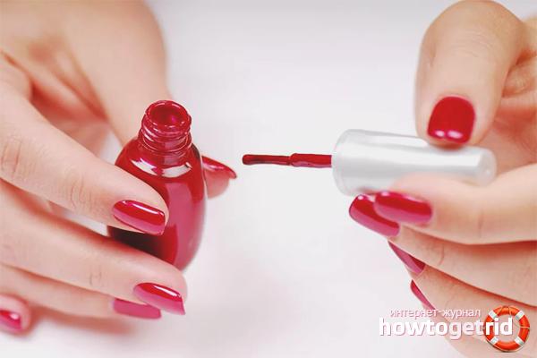Что нужно сделать чтобы на ногтях лак держался дольше