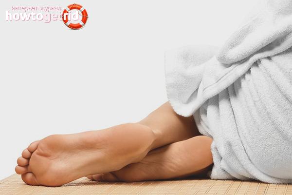Как смягчить пятки ног