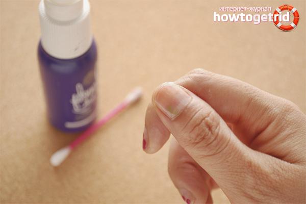 Как с ногтей снять лак для ногтей