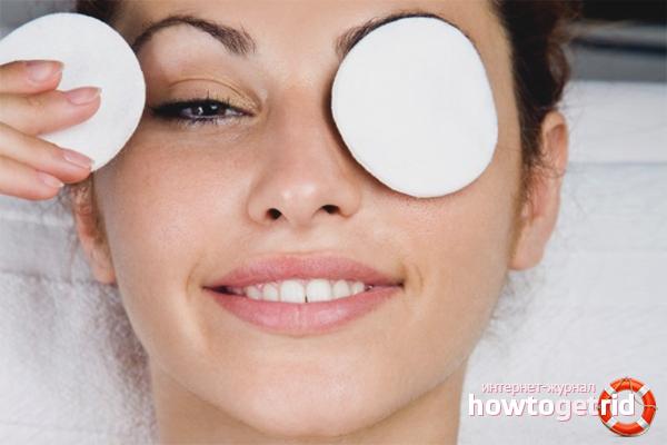 Как быстро снять отеки с глаз после слез