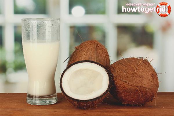 Молоко из цельного кокоса