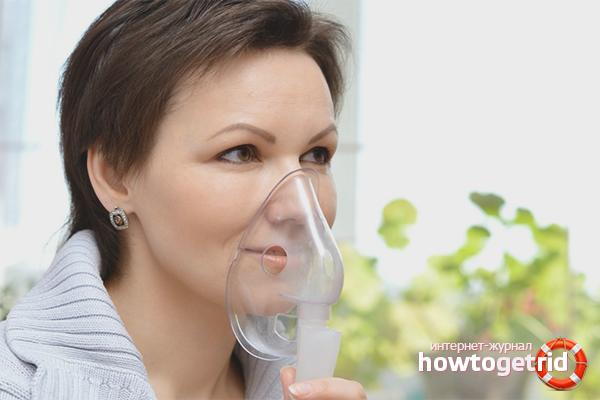 Небулайзер при боли в горле