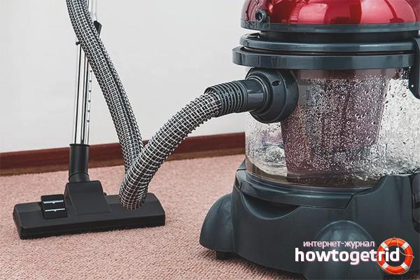 Нюансы обслуживания моющего пылесоса