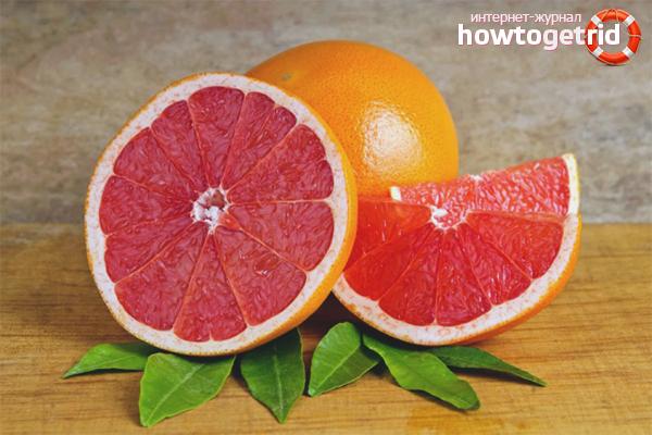 Последствия злоупотребления грейпфрутом