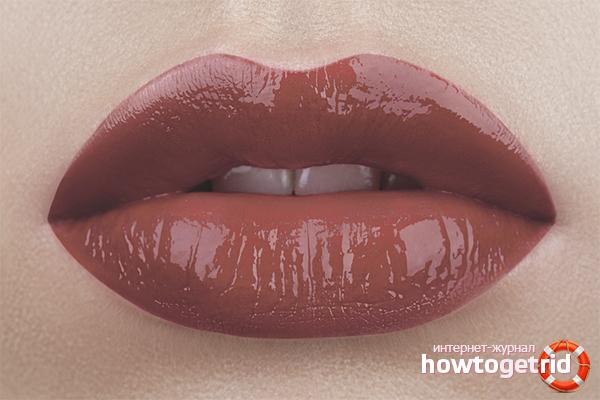 Рецепты домашнего блеска для губ
