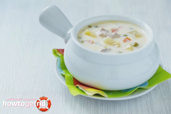 Суп в мультиваркеы с курицей и картошкой