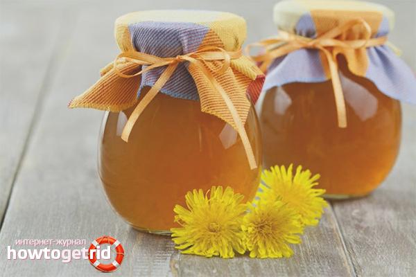 Быстрый рецепт мёда из одуванчиков