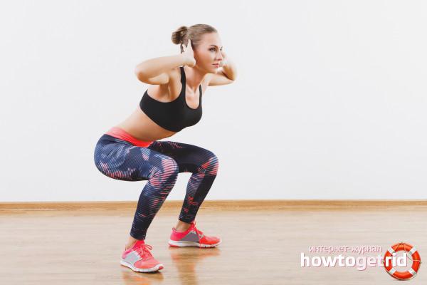 Физические упражнения от целлюлита
