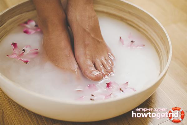 Горячие ванночки для ног