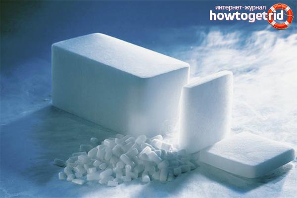 Приготовить сухой лед в домашних условиях