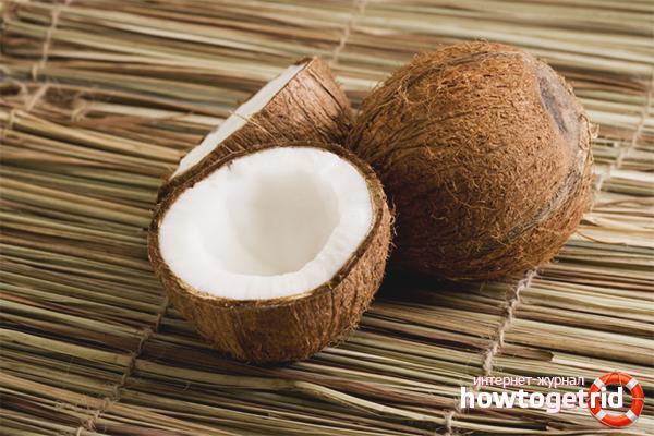Как определить качество вскрытого кокоса
