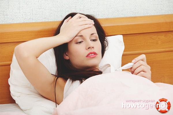 Как предотвратить простуду на ранней стадии