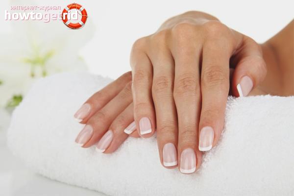 Как сделать ногти белыми в домашних условиях