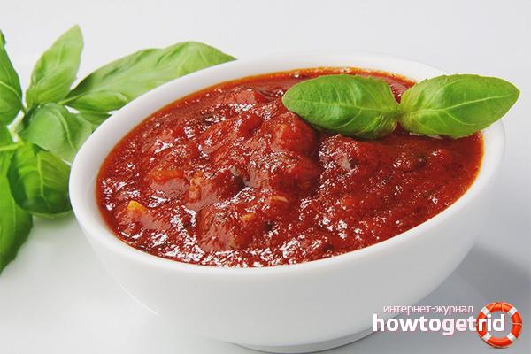 Как сделать соус из томатной пасты