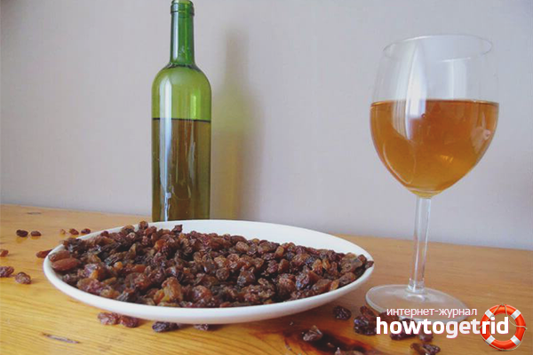 Как сделать шампанское в домашних условиях изюм