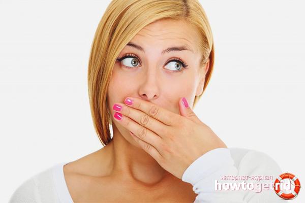 есть ли запах изо рта при глистах