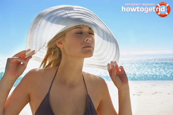Как защитить волосы от солнца в отпуске