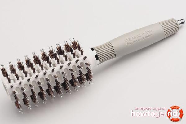 Круглая расчёска